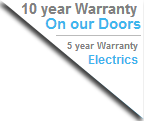 10 year warranty for garage doors Bristol